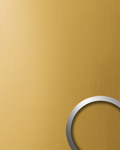 Dekorpaneel 15299 DECO Metall Brushed Optik Gold – Bild 1