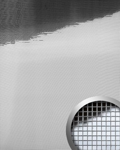 Wall paneling interior panel eyecatch wall decor panel WallFace 10650 M-STYLE self-adhesive glossy silver 0,96 sqm – Bild 1