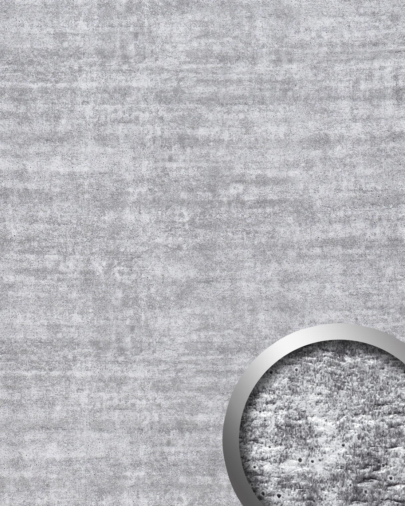 wandpaneel platte beton optik wallface 16429 urban design kunststoff