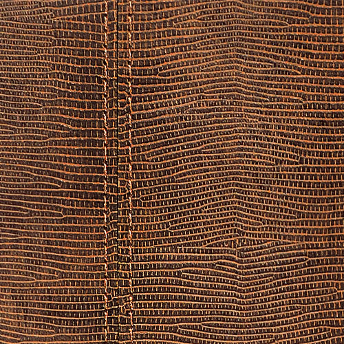 1 ÉCHANTILLON S-15008-SA WallFace LEGUAN COPPER ZN Leather Collection | ÉCHANTILLON revêtement mural au format A4 – Bild 2