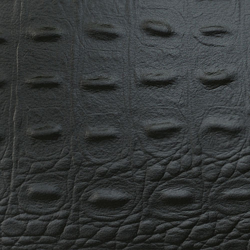 1 PIEZA DE MUESTRA S-13408-SA WallFace CROCO BLACK Leather Collection | Muestra panel decorativo en tamaño aprox DIN A4 – Imagen 2