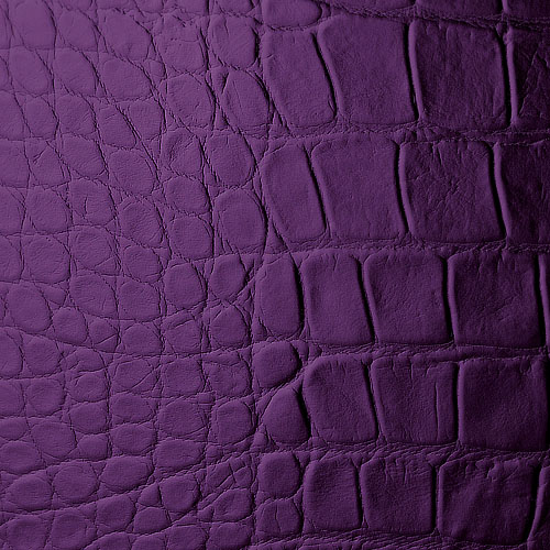 1 MUSTERSTÜCK S-16415 WallFace CROCONOVA VIOLETTA Leather Collection | Wandpaneel MUSTER in ca. DIN A4 Größe – Bild 3