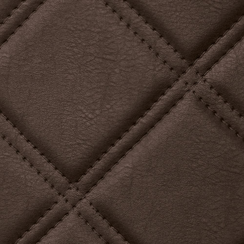 1 MUSTERSTÜCK S-15037-SA WallFace ROMBO 85 MOCCA Leather Collection | Wandpaneel MUSTER in ca. DIN A4 Größe – Bild 3