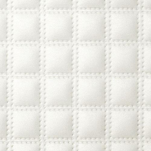 1 MUSTERSTÜCK S-15175-SA WallFace QUADRO BIANCO Leather Collection | Dekorpaneel MUSTER in ca. DIN A4 Größe – Bild 3