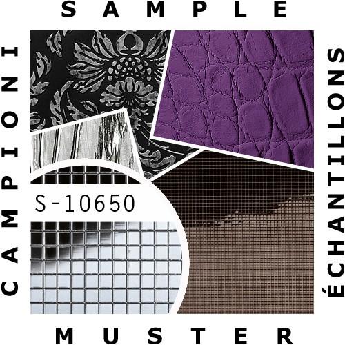 1 PIEZA DE MUESTRA S-10650-SA WallFace SILVER 3X3 M-Style Collection | Muestra revestimiento de pared en tamaño aprox DIN A4 – Imagen 2