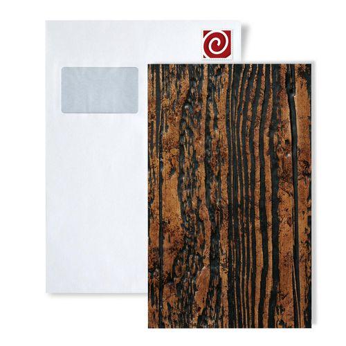 Panel decorativo autoadhesivo dise o madera con relieve 3d wallface 14807 wood color marr n - Adorno autoadhesivo ...
