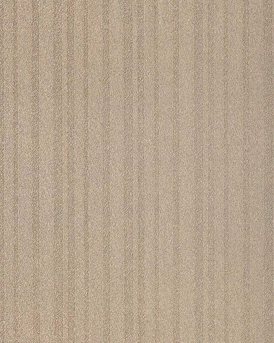 Texture striped vinyl extra washable wallpaper wall covering fashion style plain EDEM 1015-13 cocoa-brown – Bild 1