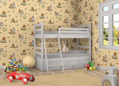 Behang Kinderkamer Geel : Kinderbehang kinderkamer behang kids behang online