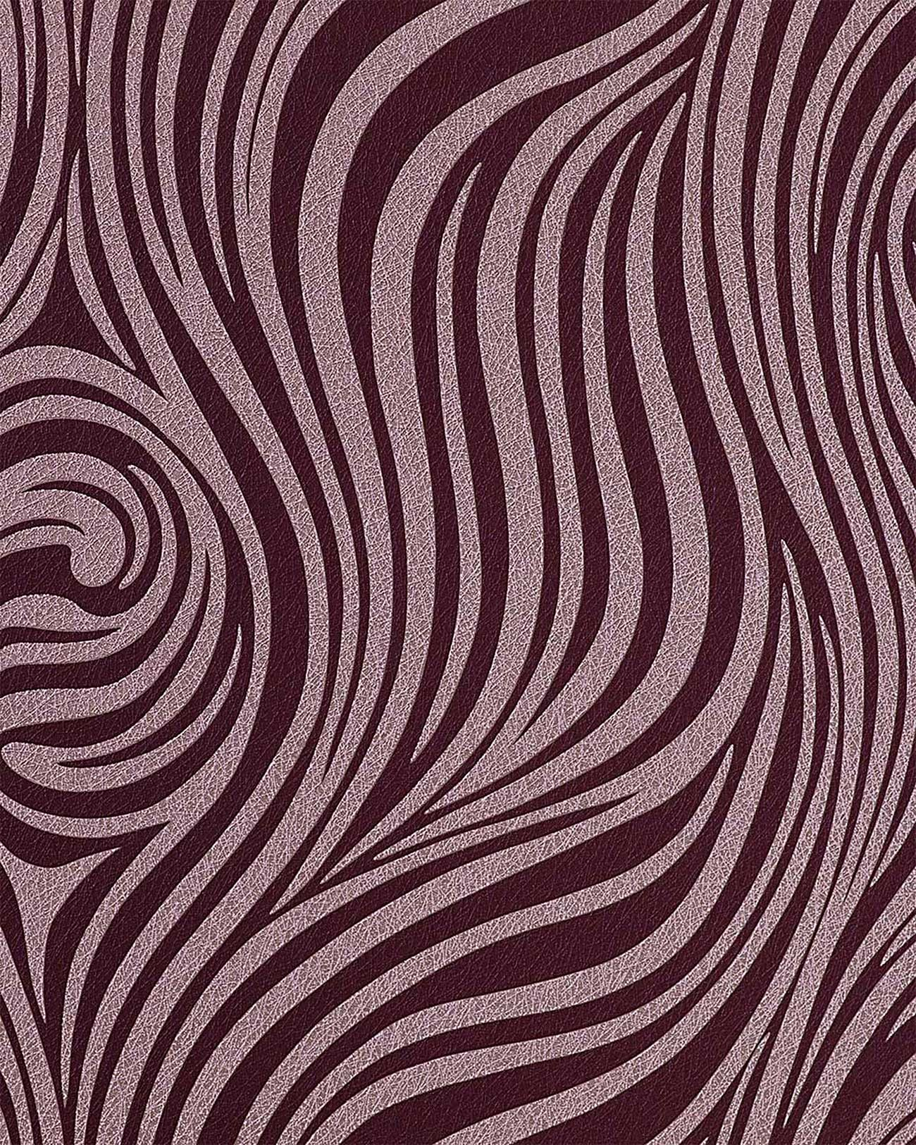 Grafik tapete edem 1016 14 zebra streifen tapete for Lila tapete mit muster