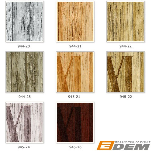 Wood planks wallpaper wall non-woven wallcovering EDEM 945-22 Textured roman numbers antique olive tree green  – Bild 2