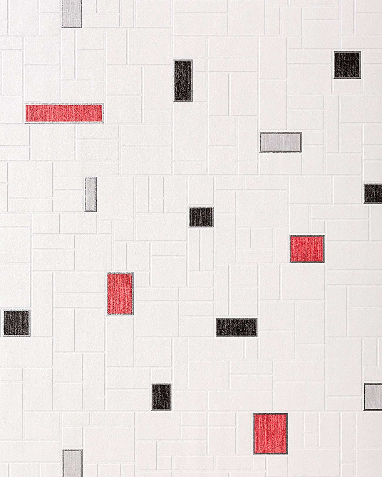 tegel behang voor keuken en badkamer edem 584 26 wit zwart grijs