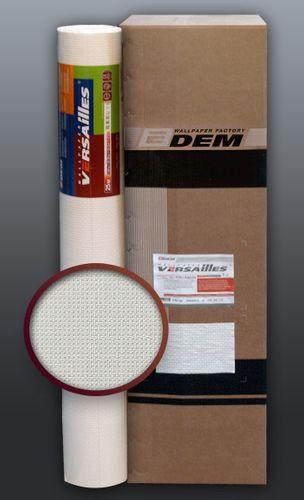 EDEM 375-60 Vliestapete überstreichbar Stoff Textur geometrische Textil-Fasern Struktur weiß | 1 Kart 6 Rollen 159 qm – Bild 1
