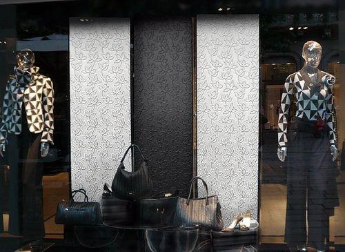 Pannello cuoio floreale WallFace 14791 FLORAL ALISE Rivestimento murale per interni autoadesivo argento grigio 2,60 mq – Bild 2