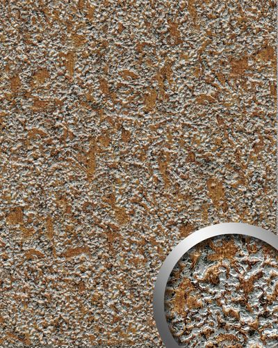Desing paneling textured stone decor interior panel WallFace 14805 LAVA wall panel self-adhesive brown grey 2,60 sqm – Bild 1
