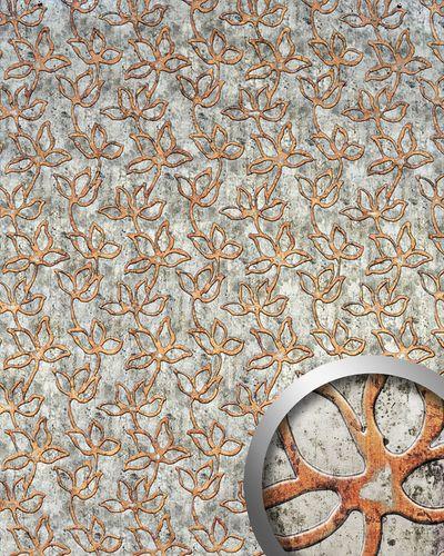 Wandbekleding panelen voor een luxe interieur WallFace 14799 FLORAL ALISE exclusief bloemen decor grijs bruin 2,60 m2 – Bild 1