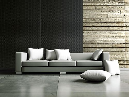 3D Wall panel WallFace 15956 MOTION ONE wave textured decor self-adhesive black 2,60 sqm – Bild 2