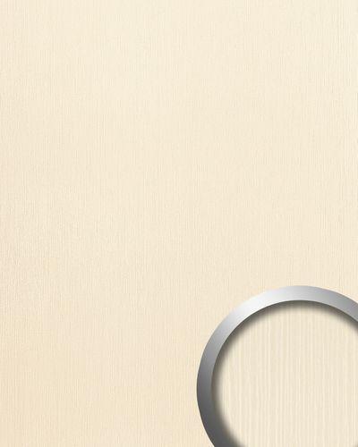 Kunststof paneel 3d design WallFace15785 TOUCH wandbekleding plakplastic plakfolie reliëf creme 2,60 m2 – Bild 1