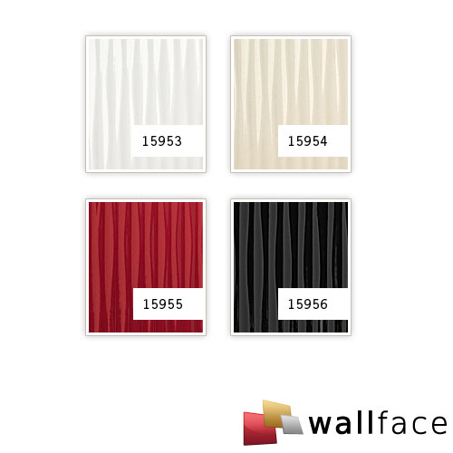1 CAMPIONE S-15953-SA WallFace MOTION ONE WHITE Acrylic Collection | CAMPIONE di pannello decorativo in circa DIN A4 – Bild 3