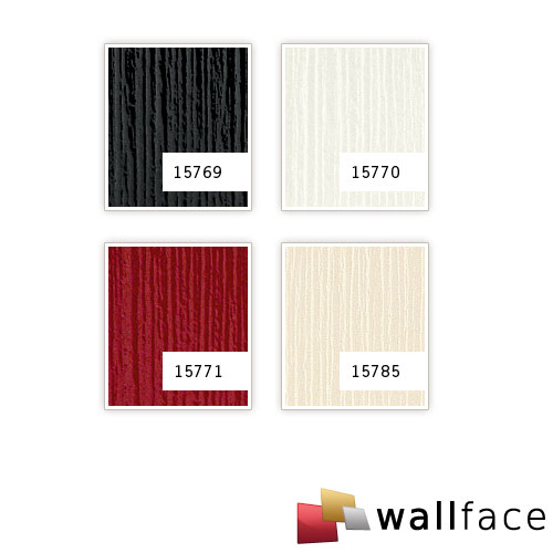 1 PROEFMONSTER S-15785-SA WallFace TOUCH CREME Acrylic Collection | Wandbekleding STAAL in ongeveer A4-formaat – Bild 4