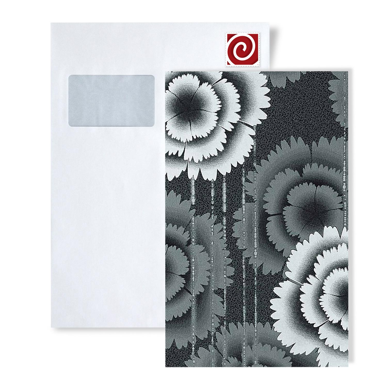 tapeten muster edem 056 serie tapete floral designer retro blumen 70er style ebay. Black Bedroom Furniture Sets. Home Design Ideas