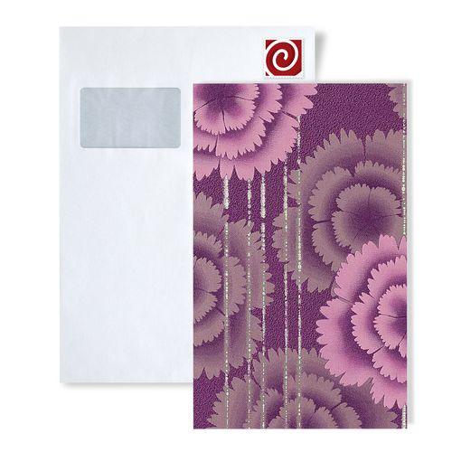 MUESTRA de papel pintado EDEM serie 056 | diseño flores retro años 70 – Imagen 2