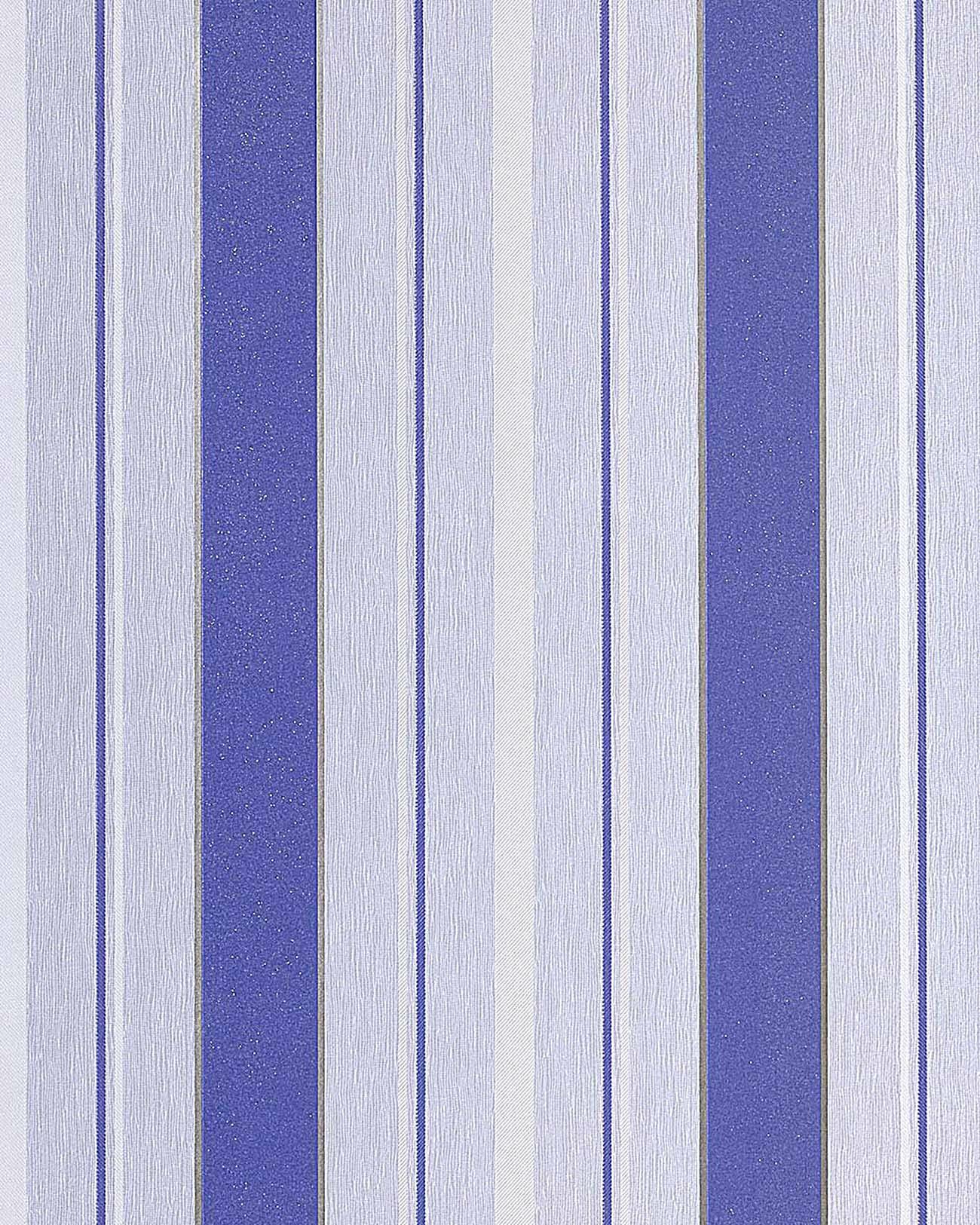 Papel pintado texturado dise o rayas gruesas edem 069 22 - Papel pintado blanco y plata ...