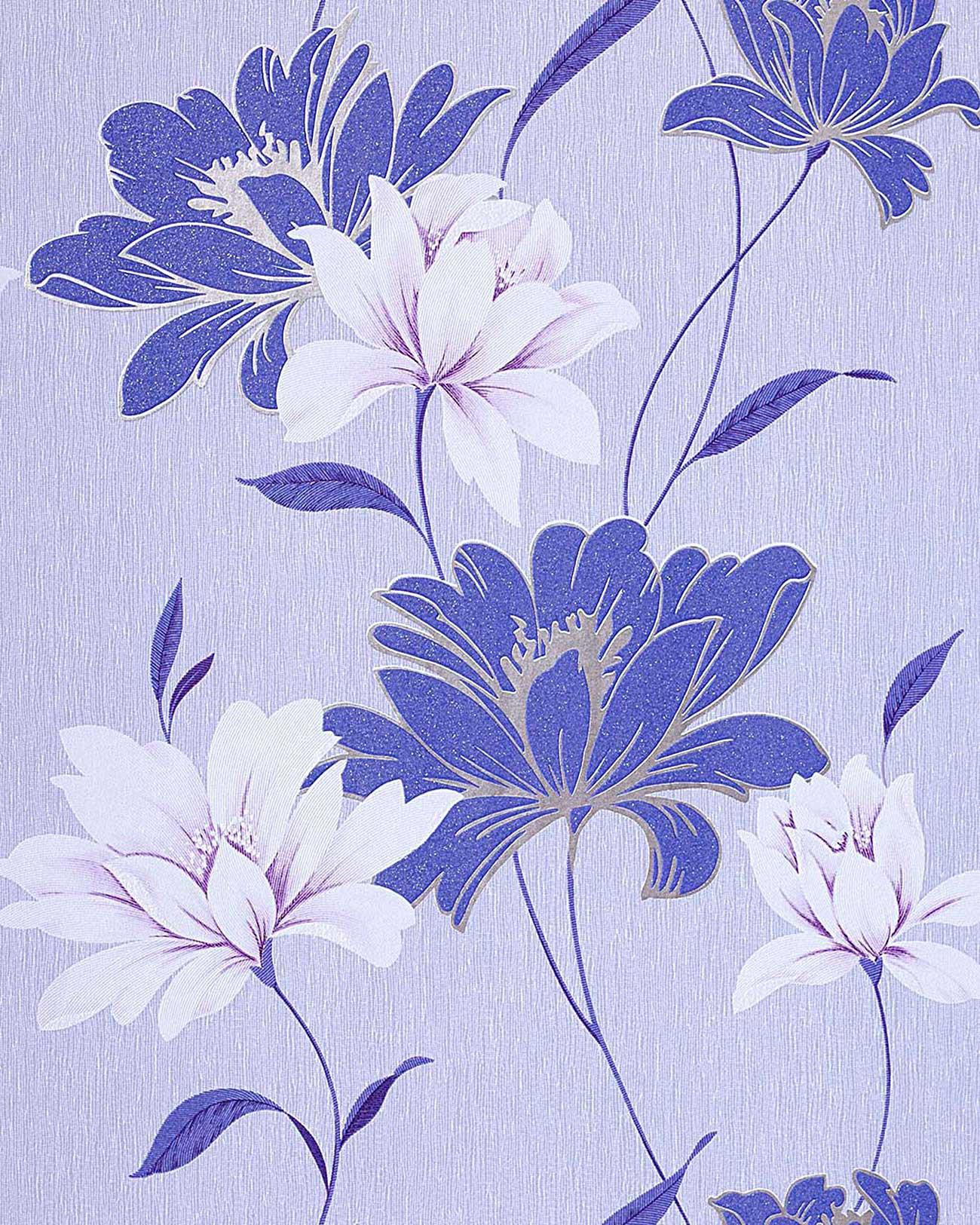 Wall Wallpaper Floral Vinyl Wall Covering Edem 168 32 Flowers
