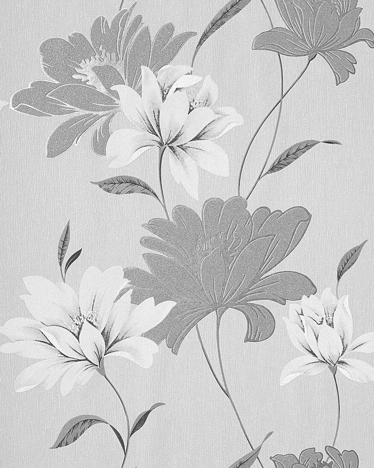 Wall Wallpaper Floral Vinyl Wall Covering Edem 168 36 Flowers