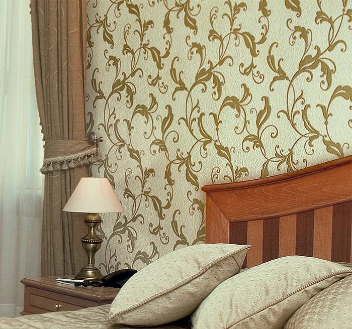 blumen tapete vliestapete edem 600 94 landhaus. Black Bedroom Furniture Sets. Home Design Ideas