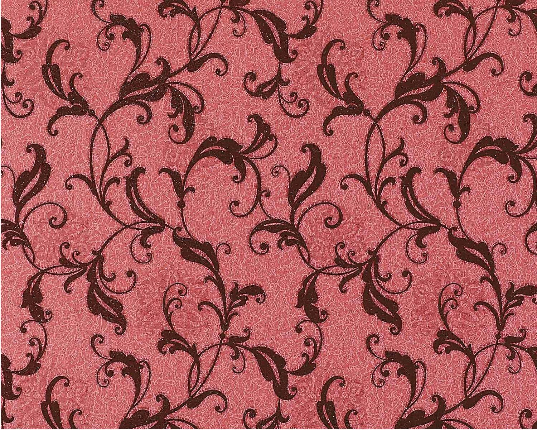 Edem 600 94 Design Non Woven Floral Wallpaper Antique Red
