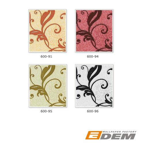 Papier peint intissé motif floral fleurs style antique EDEM 600-94 XXL rouge rouge vin | 10,65 m2 – Bild 4