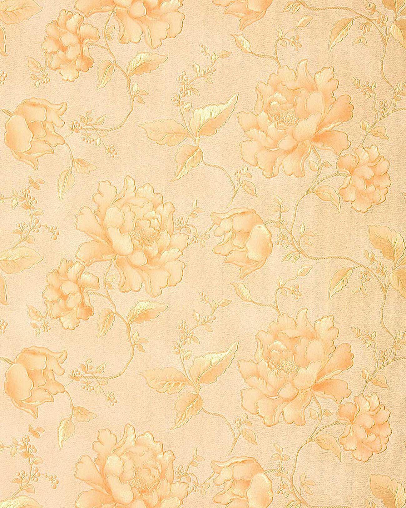 Edem 748 32 luxus floral tapete pr ge 3d blumentapete for 3d tapete gold
