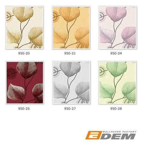 Vliestapete Blumen Tapete Landhaus Tapete EDEM 950-28 XXL Floral Blätter Dekor Pastell-grün hellgrün 10,65 qm – Bild 4
