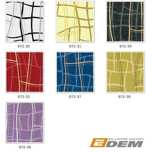 Grafik Tapete Vliestapete EDEM 972-38 XXL Objekttapete abstrakte 3D Netzstruktur Linien grün olive gold 10,65 qm – Bild 4