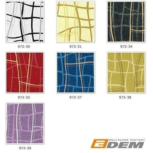 Grafik Tapete Vliestapete EDEM 972-39 XXL Objekttapete abstrakte 3D Netzstruktur Linien Flieder violett silber 10,65 qm – Bild 4