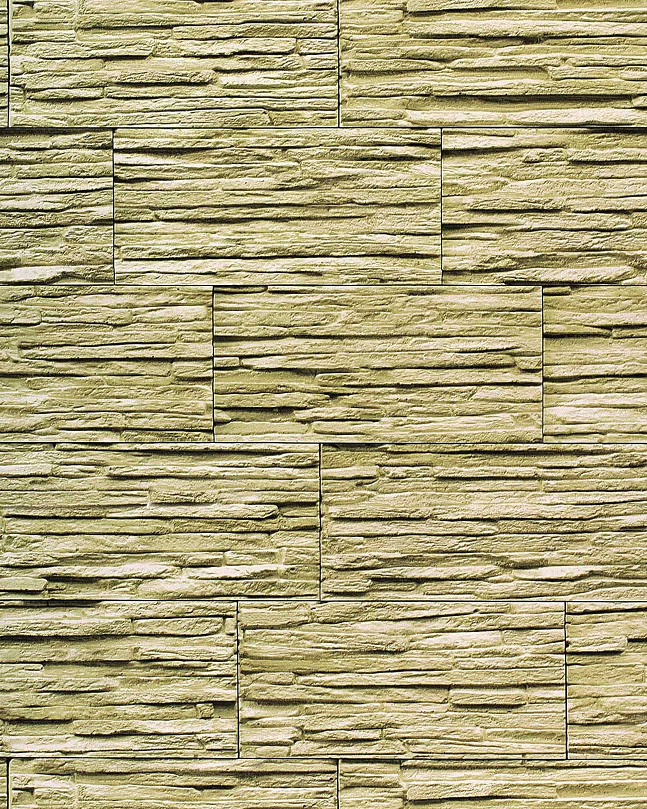 Vinyl wallpaper modern textured stone natural 1003-35 brick decor washable olive-green green
