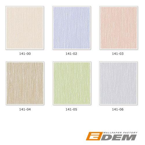 Uni Tapete EDEM 141-03 Elegante Tapete Vinyltapete leicht gestreift hell beige-rot perlmutt – Bild 3