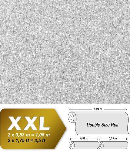 Papel pintado blanco no tejido EDEM 378-60 para pintar encima con efecto estuco 26,50 m2 – Imagen 2