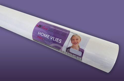 HomeVlies 120 g überstreichbare Vliestapete für glatte saubere Wände Renoviervlies Malervlies Glattvlies weiß | 25 qm – Bild 1