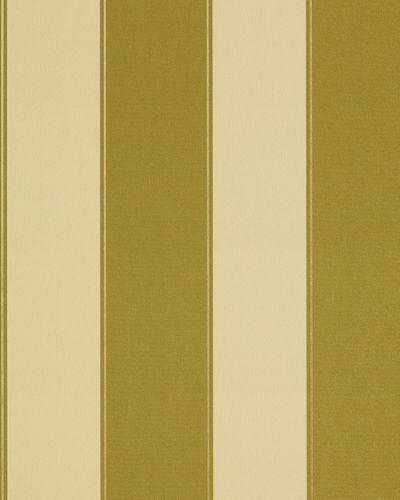Streifen Tapete EDEM 771-31 Vinyl Tapete Luxus Hochwertig Barock olive-grün gelbgrün bronze – Bild 1