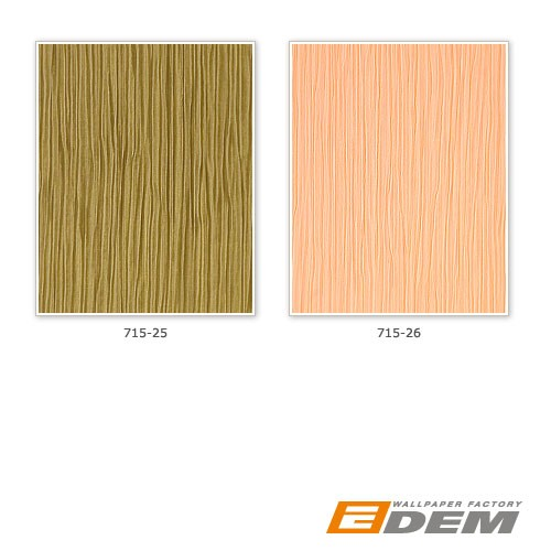 Wallpaper wall heavy-weight vinyl EDEM 715-26 Wall covering embossed stripe caramel light brown rose gold  – Bild 4