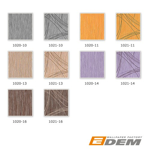 Glossy effects wall covering style fine stripes EDEM 1020-13 Wallpaper metallic look light brown silver  – Bild 4