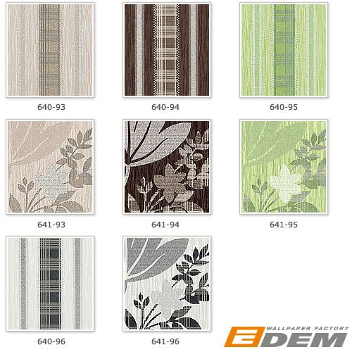 XXL Papier peint intissé motif floral EDEM 641-93 feuilles beige brun clair argent | 10,65 m2 – Bild 4