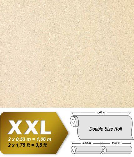 Carta da parati Rivestimento murale EDEM 917-21 di lusso rilievo in crema bianco perlato tessuto non tessuto TNT 10,65 mq