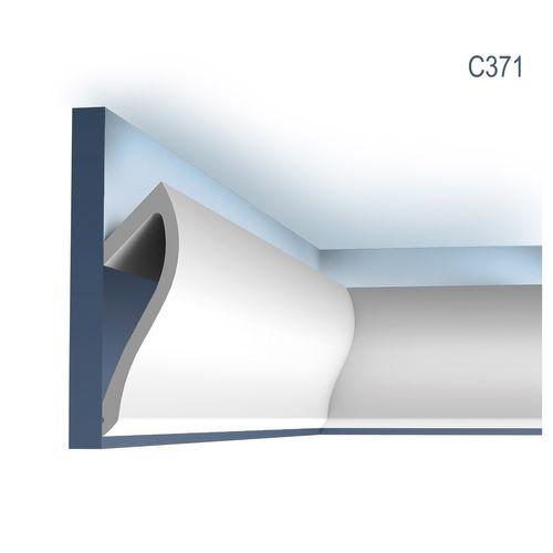 Stuck Wandleiste Orac Decor C371 Shade Ulf Moritz LUXXUS Eckleiste Zierleiste für indirekte Beleuchtung 2 Meter – Bild 1