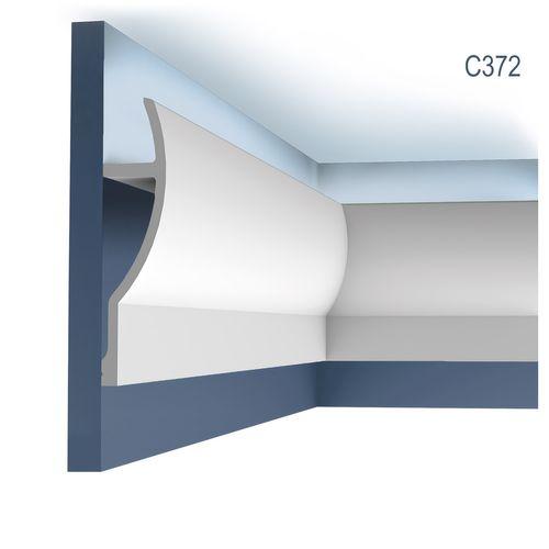 Zierleiste Orac Decor C372 Fluxus Ulf Moritz LUXXUS Eckleiste für indirekte Beleuchtung Profilleiste Stuckleiste 2 Meter – Bild 1