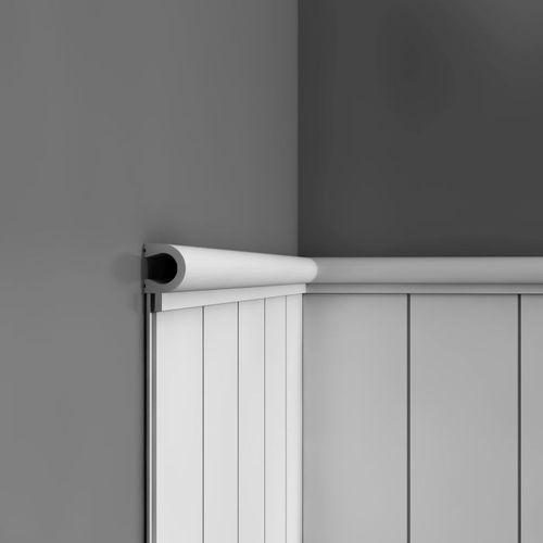 Wandleiste Zierprofil Orac Decor PX147 AXXENT Profilleiste Zierleiste Friesleiste Stuckprofil stoßfest | 2 Meter – Bild 2