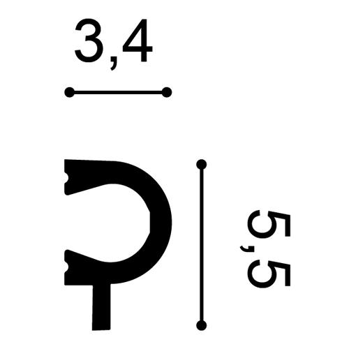 Wandleiste PX169 2m – Bild 2