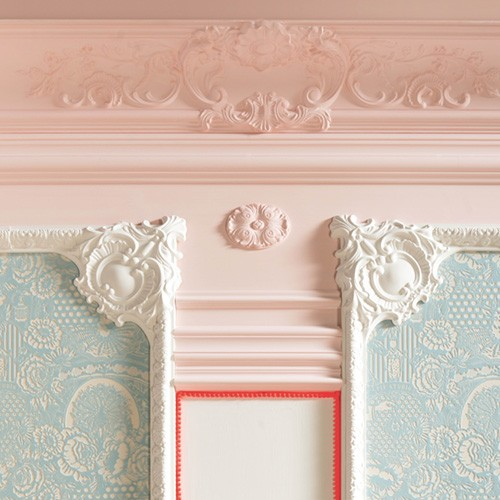 Orac Decor P3020A LUXXUS Stucco Corner Element Moulding decoration for Moulding 42,5 cm – Bild 2