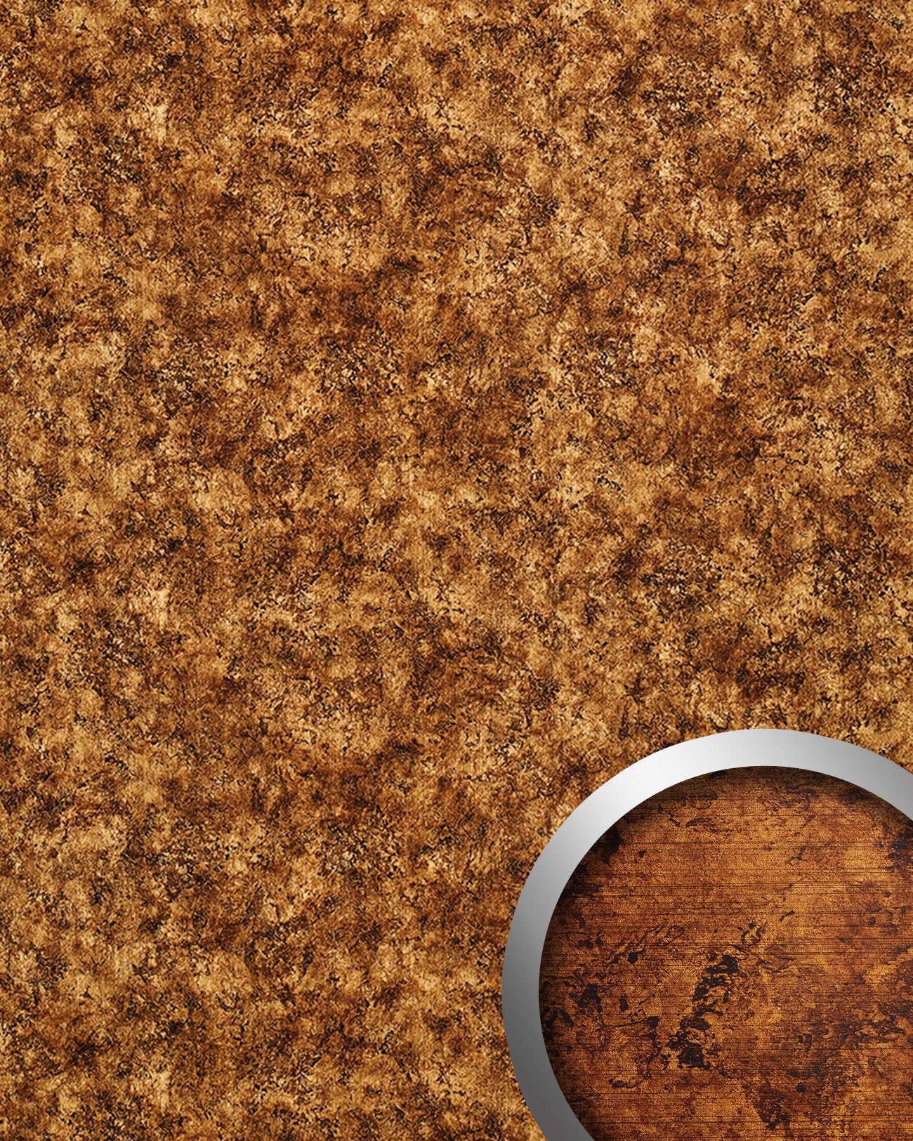 Revestimiento mural wallface 17271 vintage estilo cuero - Revestimiento pared autoadhesivo ...